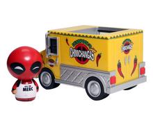 *Bulk* Funko Dorbz Ridez Marvel: Deadpool With Chimichanga Truck Vinyl Figure - Case Of 2 Figures
