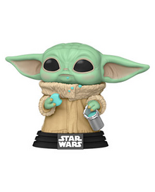 Funko POP! Star Wars The Mandalorian: Grogu With Cookies Vinyl Figure
