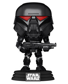 Funko POP! Star Wars The Mandalorian: Dark Trooper Vinyl Figure