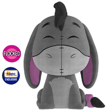 Funko Dorbz Disney Winnie The Pooh: Flocked Eeyore Gemini Collectibles Exclusive Vinyl Figure - Damaged Box / Flock Flaw