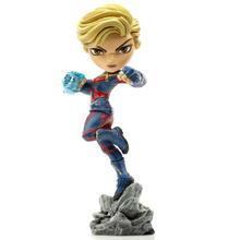 Iron Studios Minico Marvel Avengers Endgame: Captain Marvel Vinyl Figure