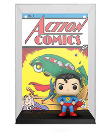 Funko POP! Comic Covers DC Comics: Superman Action Comic Vinyl Figure In Case - Only 5 Available