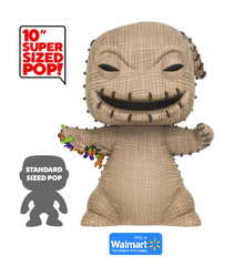 Funko POP! Disney The Nightmare Before Christmas: 10 Inch Oogie Boogie Wal-Mart Exclusive Sticker Vinyl Figure - Damaged Box / Paint Flaw