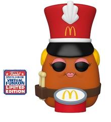2021 FunKon Funko POP! Ad Icons McDonald's: Drummer McNugget Exclusive Vinyl Figure - Virtual FunKon Sticker