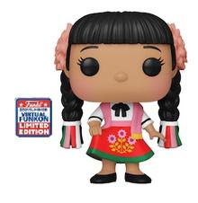 2021 FunKon Funko POP! Disney It's A Small World: Mexico Exclusive Vinyl Figure - Virtual FunKon Sticker