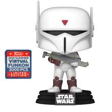 2021 FunKon Funko POP! Star Wars Rebels: Imperial Super Commando Exclusive Vinyl Figure - Virtual FunKon Sticker - LE 2000pcs