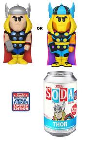 2021 FunKon Funko Soda Marvel: Thor Exclusive Vinyl Figure - Virtual FunKon Sticker