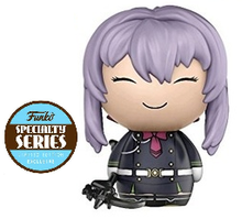 *Bulk* Funko Dorbz Animation Seraph Of The End: Shinoa With Weapon Vinyl Figure - Specialty Series - Case Of 6 Figures