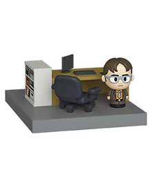 Funko Mini Moments The Office: Dwight Schrute Vinyl Figure With Diorama