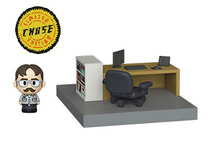 Funko Mini Moments The Office: Dwight Schrute Vinyl Figure With Diorama - Chase Variant