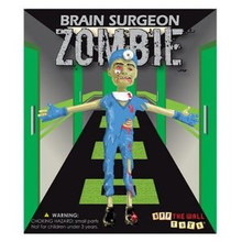 Off The Wall Toys©: Zombie Brain Surgeon Bendable Action Figure - Clearance