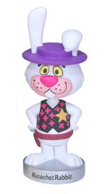 Funko Animation Hanna Barbera: Ricochet Rabbit Wacky Wobbler Bobblehead - Damaged Box / Paint Flaw