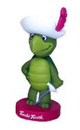 Funko Animation Hanna Barbera: Touche Turtle Wacky Wobbler Bobblehead - Damaged Box / Paint Flaw