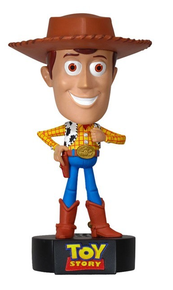 Funko Disney Toy Story: Talking Woody Wacky Wobbler Bobblehead - Damaged Box / Paint Flaw