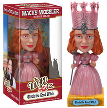 Funko Movies The Wizard Of Oz: Glinda The Good Witch Wacky Wobbler Bobblehead - Clearance