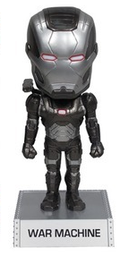 Funko Marvel Iron Man 3: War Machine Wacky Wobbler Bobblehead