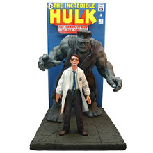 The Incredible Hulk Comic Book Scene Replica Statue - Master Replicas #402 - Clearance