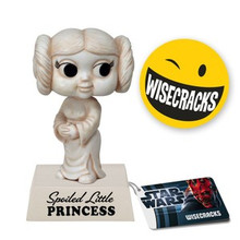 FUNKO STAR WARS PRINCESS LEIA WACKY WISECRACKS BOBBLEHEAD VINYL FIGURE - CLEARANCE