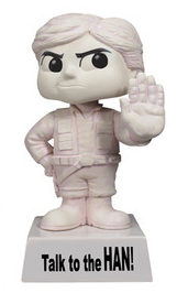 Funko Wisecracks Star Wars: Han Solo Bobblehead Figure - Clearance
