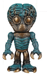 2015 SDCC Funko Hikari Universal Monsters: Antique Verdigris Metaluna Mutant Exclusive Vinyl Figure - LE 500pcs