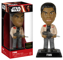 FUNKO STAR WARS EPISODE VII - THE FORCE AWAKENS: FINN BOBBLEHEAD FIGURE - CLEARANCE