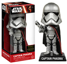 FUNKO STAR WARS EPISODE VII - THE FORCE AWAKENS: CAPTAIN PHASMA BOBBLEHEAD FIGURE - CLEARANCE