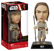 FUNKO STAR WARS EPISODE VII - THE FORCE AWAKENS: REY BOBBLEHEAD FIGURE - CLEARANCE