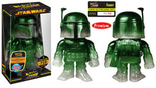 2015 NYCC Funko Hikari Star Wars: Clear Glitter Boba Fett Vinyl Figure - LE 750pcs - Warehouse Blowout