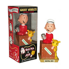 Funko Television Popeye: Swee' Pea & Jeep Wacky Wobbler Bobblehead - Warehouse Blowout