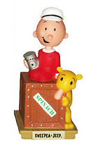 Funko Television Popeye: Swee' Pea & Jeep Wacky Wobbler Bobblehead