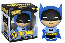 Funko Dorbz DC Comics 75th Anniversary: Blue Colorways Batman Vinyl Figure - Warehouse Blowout