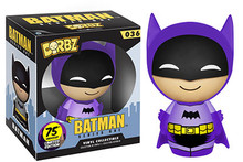 Funko Dorbz DC Comics 75th Anniversary: Purple Colorways Batman Vinyl Figure - Warehouse Blowout