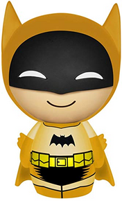 Funko Dorbz DC Comics 75th Anniversary: Yellow Colorways Batman Vinyl Figure