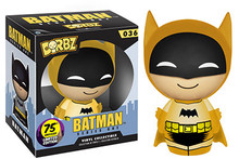 Funko Dorbz DC Comics 75th Anniversary: Yellow Colorways Batman Vinyl Figure - Warehouse Blowout