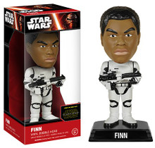 FUNKO STAR WARS EPISODE VII - THE FORCE AWAKENS: STORMTROOPER FINN BOBBLEHEAD FIGURE - CLEARANCE