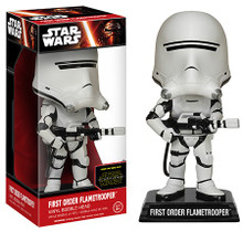 FUNKO STAR WARS EPISODE VII - THE FORCE AWAKENS: FIRST ORDER FLAMETROOPER BOBBLEHEAD FIGURE - CLEARANCE