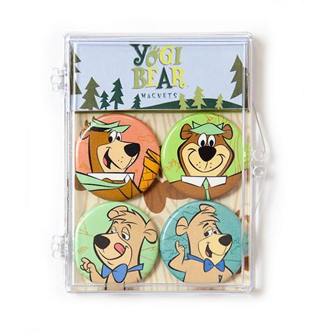The Coop™ Hanna Barbera: Yogi Bear & Boo Boo Bear 4pc Magnet Set