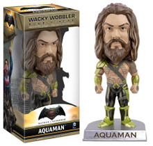 Funko DC Comics Batman vs. Superman: Aquaman Wacky Wobbler Bobblehead - Warehouse Blowout