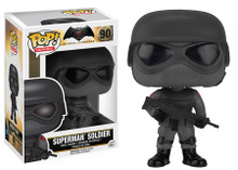 Funko POP! DC Comics Batman vs. Superman: Superman Soldier Vinyl Figure - Clearance