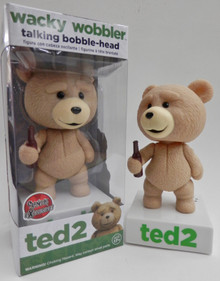 Funko Movies Ted 2: Talking Ted (R-Rated Version) Wacky Wobbler Bobblehead - Clearance