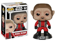Funko POP! Star Wars Episode VII - The Force Awakens: Nien Nunb Vinyl Figure - Warehouse Blowout