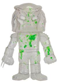 Funko Hikari Movies: Clear Predator With Green Blood Splatter Gemini Collectibles Exclusive Vinyl Figure - LE 500pcs