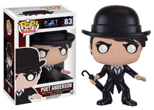 Funko POP! Animation Poet Anderson - The Dream Walker: Poet Anderson Vinyl Figure - Warehouse Blowout