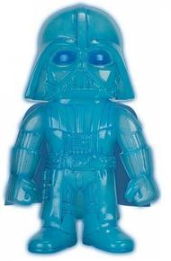 Funko Hikari Star Wars: Glow In The Dark Hologram Darth Vader Gemini Collectibles Exclusive Vinyl Figure - LE 300pcs - Damaged Box Paint Flaw