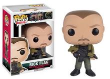 Funko POP! DC Comics Suicide Squad: Rick Flag Vinyl Figure