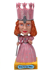 Funko Movies The Wizard Of Oz: Glinda The Good Witch Wobbler Bobblehead - Damaged Box / Paint Flaw