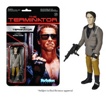 Funko ReAction Movies The Terminator: The Terminator Action Figure - Warehouse Blowout