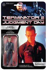 Funko ReAction Movies The Terminator: T-1000 Officer Action Figure - Warehouse Blowout