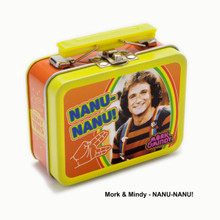The Coop™ Teeny Tins Retro TV Mork & Mindy: Nanu-Nanu! Collectible Tin