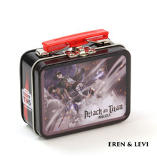 The Coop™ Teeny Tins Attack On Titan: Eren & Levi Collectible Tin